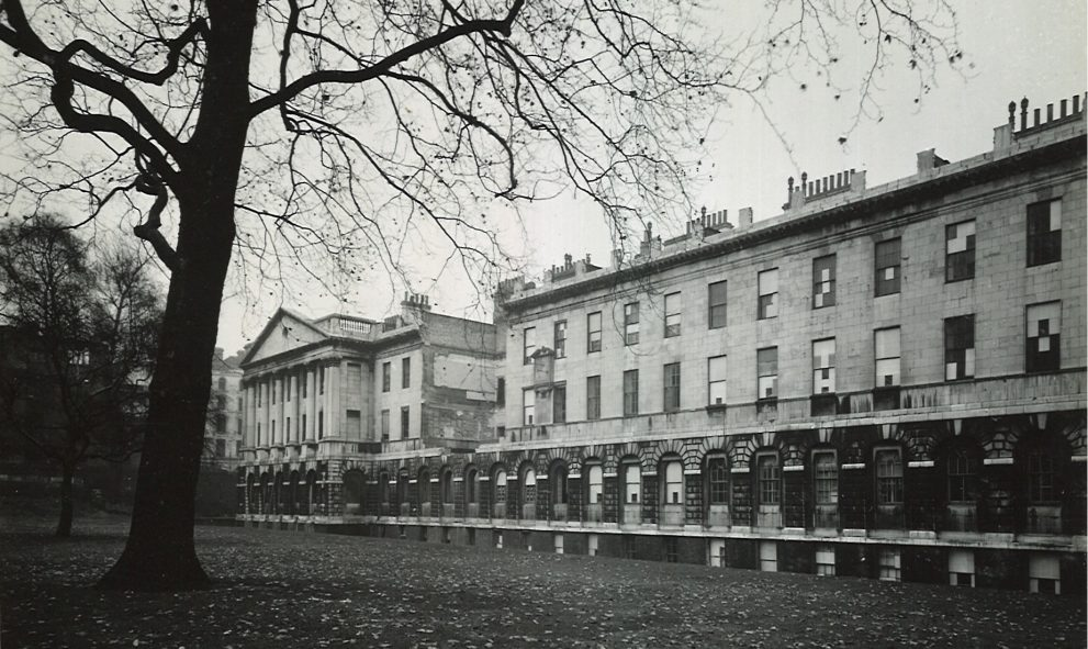 An historic photograph of 2 and 3 Stone Buildings at Lincoln's Inn