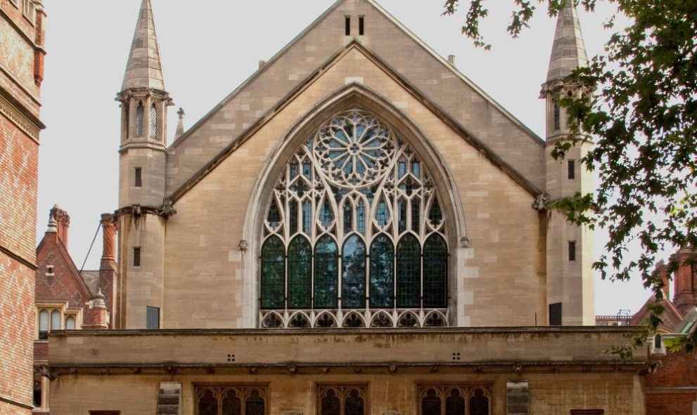 exterior of Lincoln's Inn Chapel
