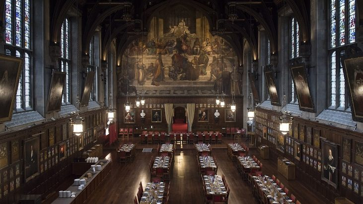 The Great Hall at Lincoln's Inn