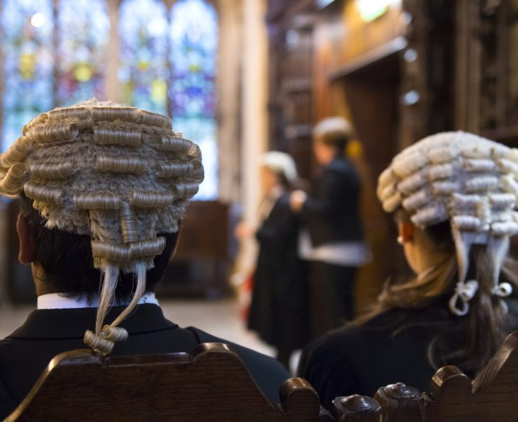 Barristers - have just been called