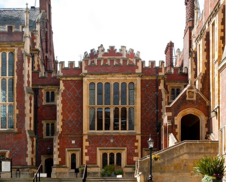 Exterior of Lincoln's Inn