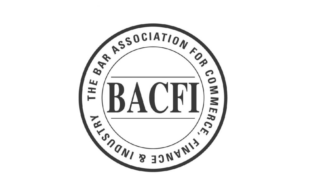 Logo of the Bar Association for Commerce, Finance and Industry (BACFI)
