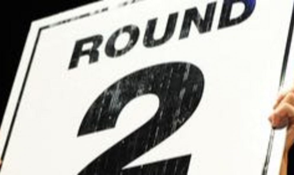 image of 'Round 2' sign