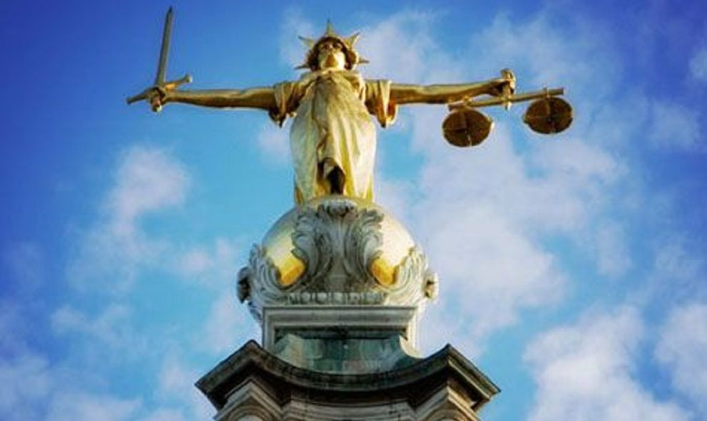 image of Justice with scales