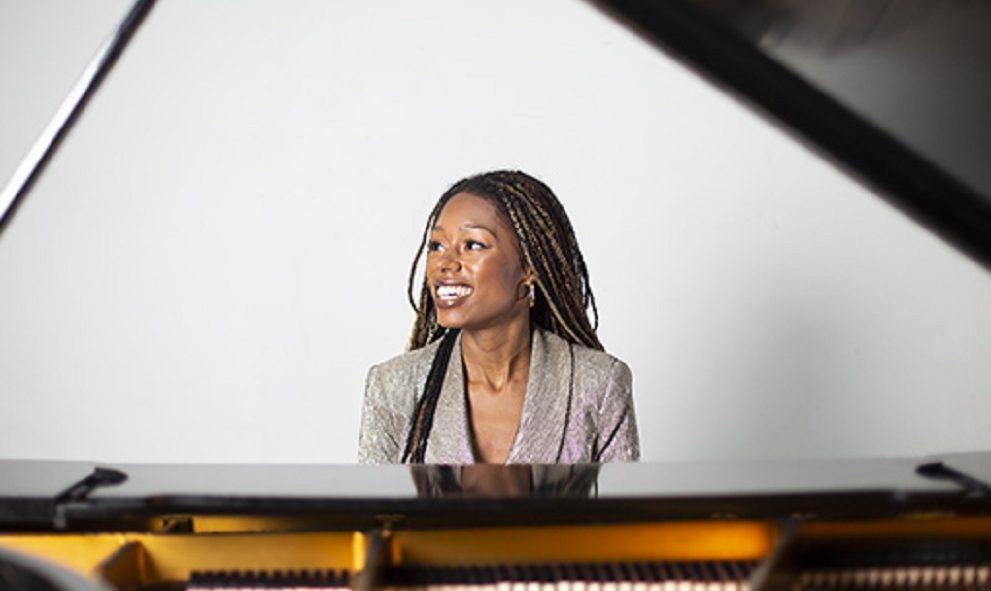 pianist Isata-Kanneh Mason at piano